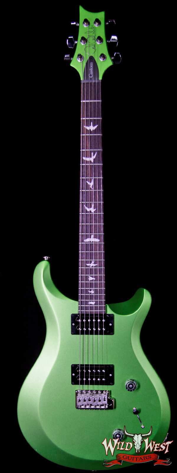 2018 Paul Reed Smith PRS S2 Custom 22 Rosewood Fretboard Satin Jewel Lime Metallic