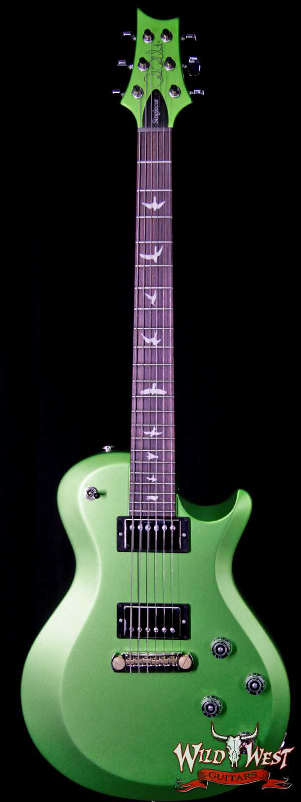 2018 Paul Reed Smith PRS S2 Singlecut Rosewood Fretboard Satin Jewel Lime Metallic