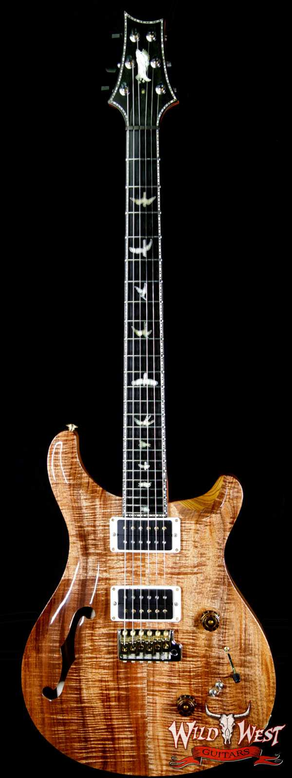 PRS Private Stock 7043 Custom 24-08 Semi-Hollow Tasmanian Blackwood Top Tulip Neck Ebony Fretboard Natural