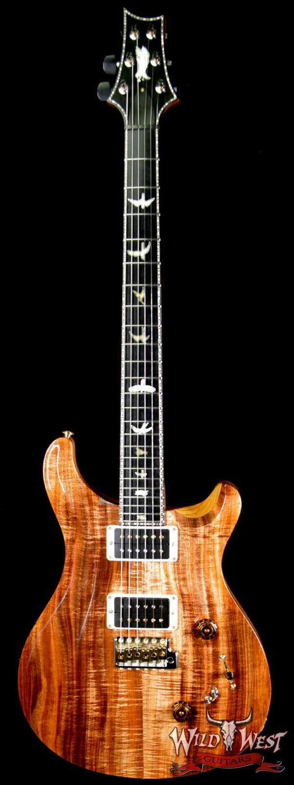 PRS Private Stock 7044 Custom 24-08 Tasmanian Blackwood Top Tulip Neck Ebony Fretboard Natural