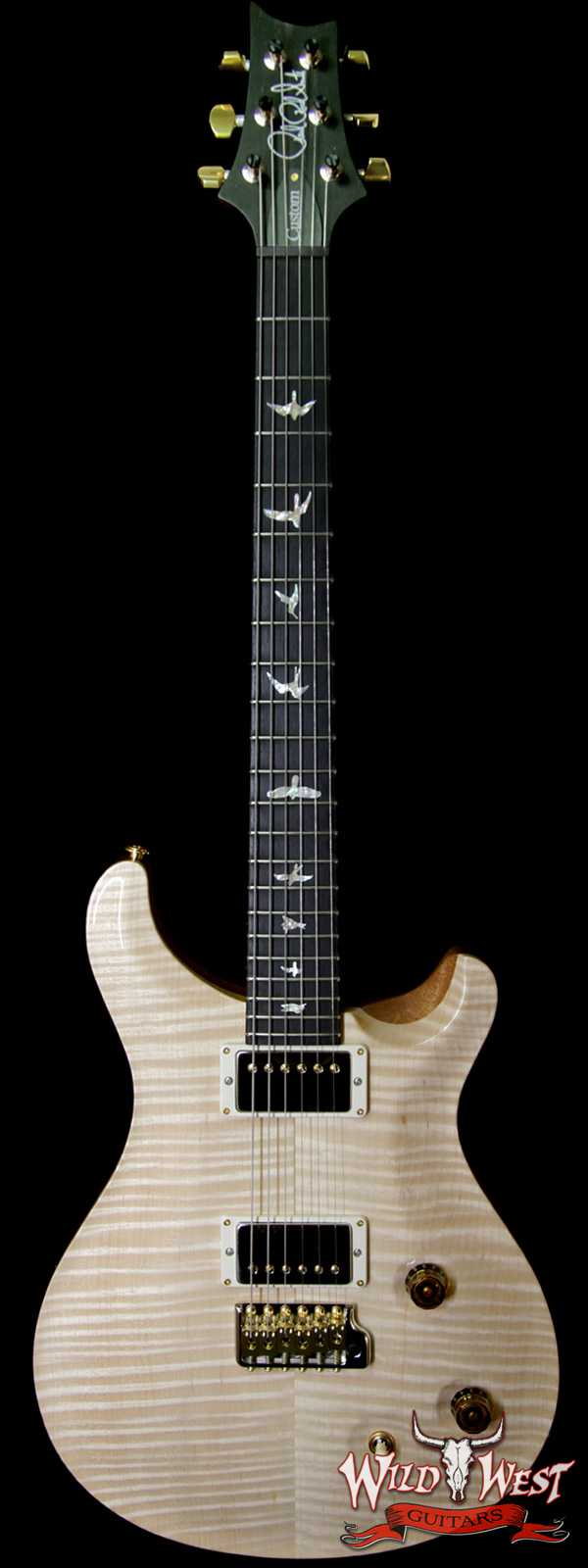 2018 Paul Reed Smith PRS Wood Library Artist Package Custom 22 Flame Maple Top Ebony Fretboard Natural