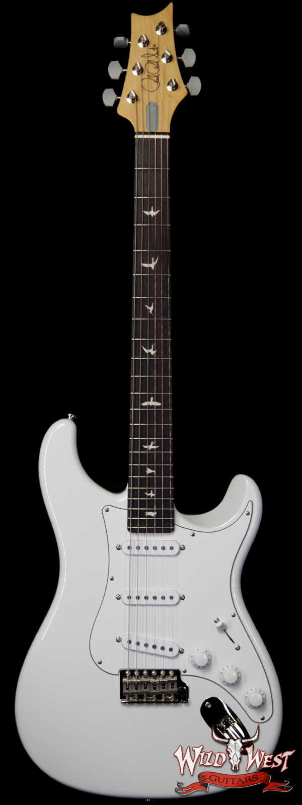 Paul Reed Smith PRS John Mayer Signature Model Silver Sky Rosewood Fingerboard Frost White