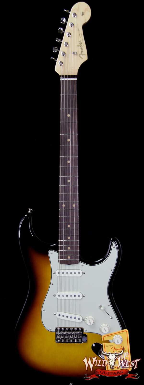 Fender USA American Vintage `59 Stratocaster Rosewood Fretboard 3 Tone Sunburst V1743617