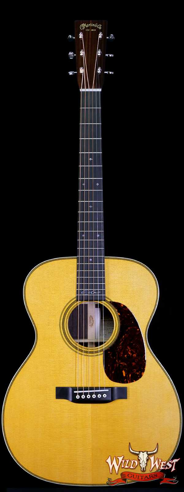 Martin Eric Clapton Signature 000-28 EC Sitka Spruce Top East Indian Rosewood Side & Back Ebony Board Natural