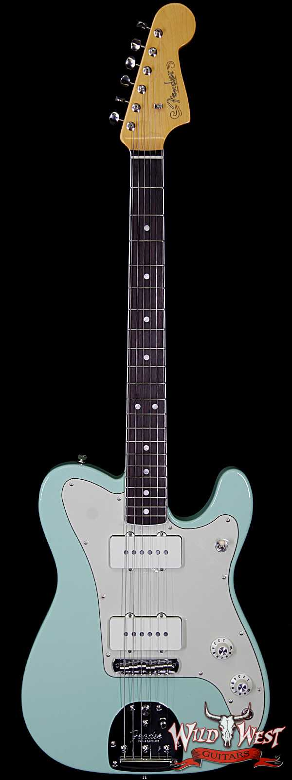 Fender USA Limited Edition Parallel Universe Jazz Telecaster Rosewood Fretboard Surf Green