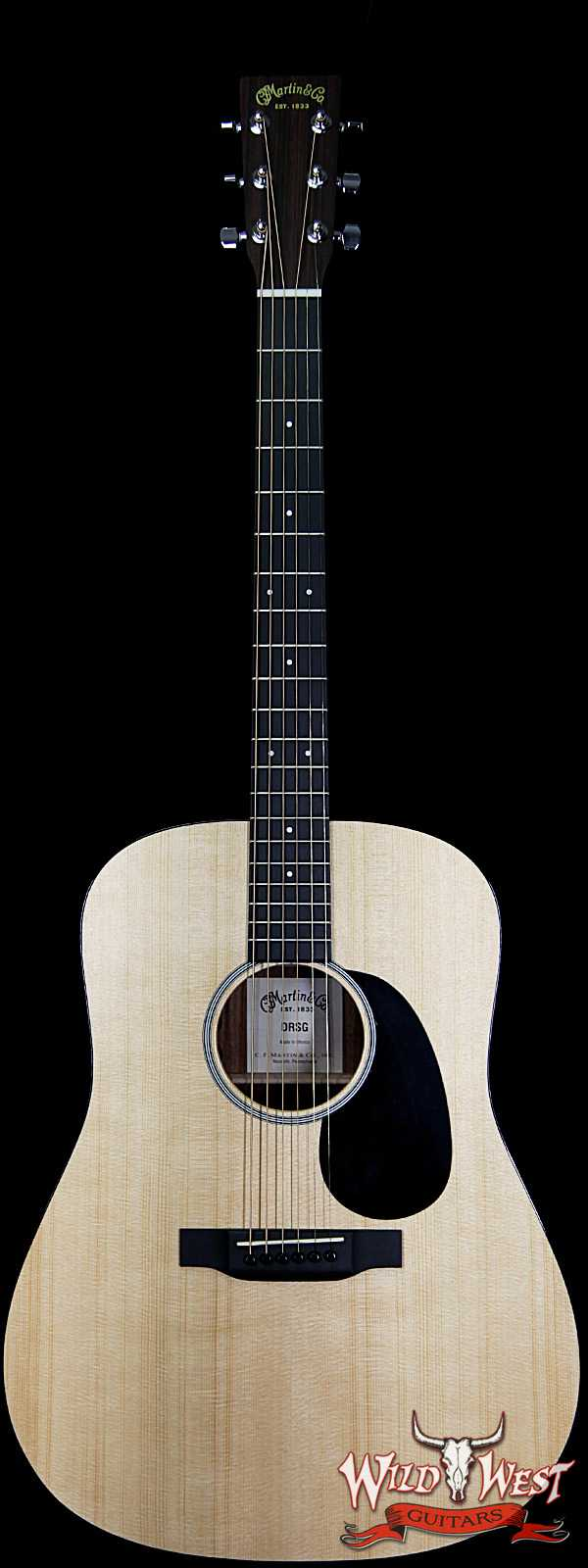 Martin Road Series DRSG with Fishman Sonitone Electric Acoustic Natural