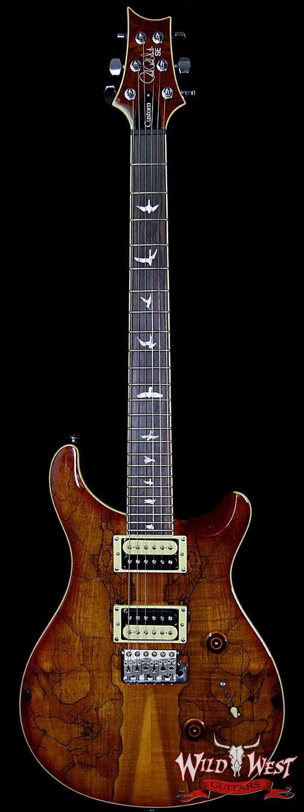 Paul Reed Smith PRS SE Spalted Maple Top Custom 24 Vintage Sunburst