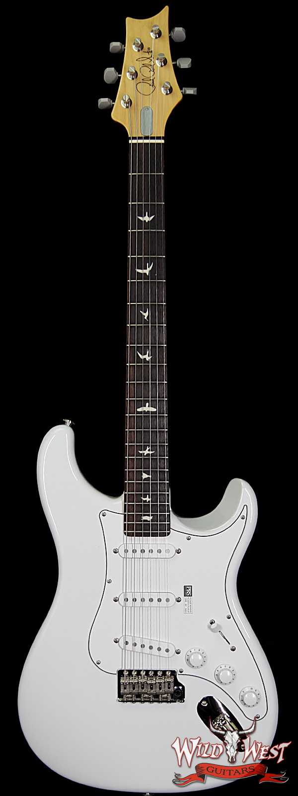 PRS John Mayer Signature Model Silver Sky Bolt-On Maple Neck Rosewood Board Frost ( White )