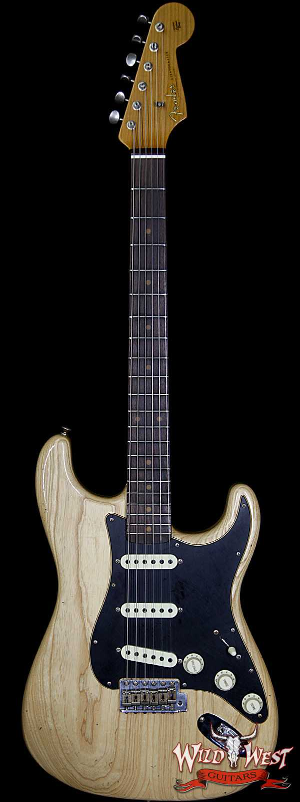 Fender LTD Summer Event #57 1962 Stratocaster Roasted Flame Maple Neck Journeyman Relic Aged Natural