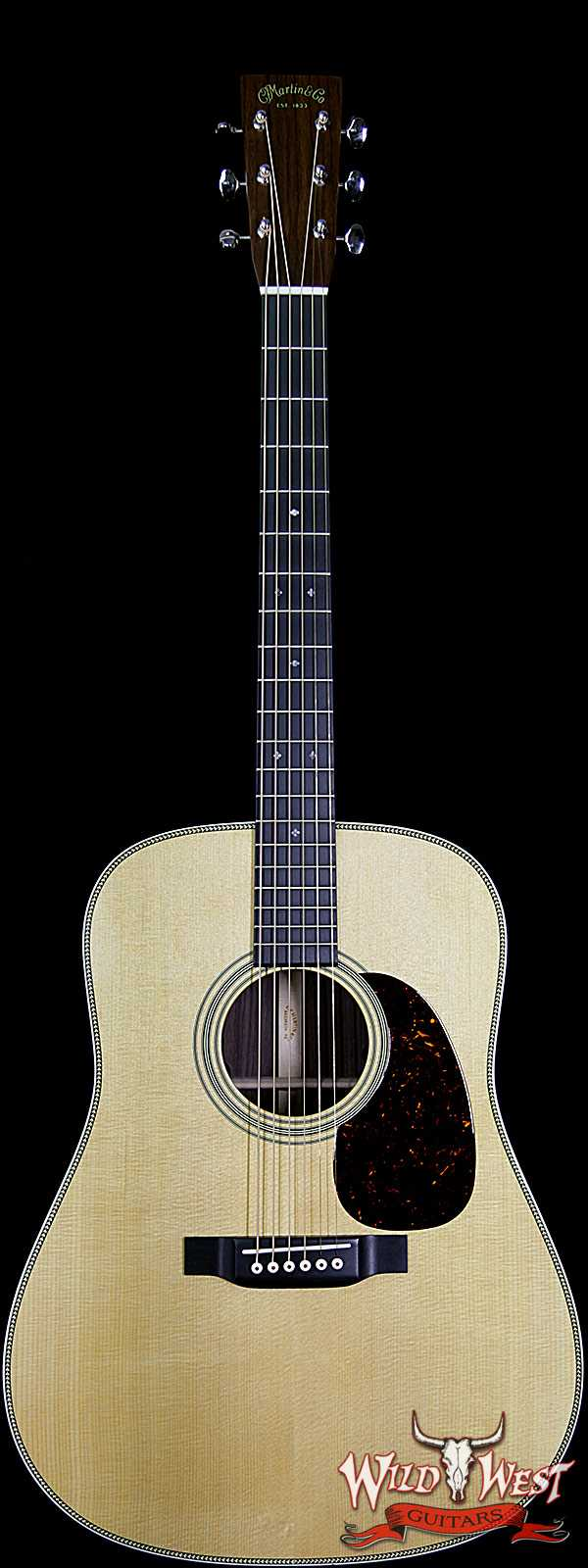 Martin HD-28E Retro East Indian Rosewood Back & Side Ebony Fingerboard Natural