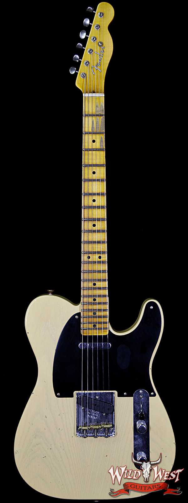 Summer Event #13 Fender Custom Shop 1951 Nocaster Journeyman Relic Faded Nocaster Blonde