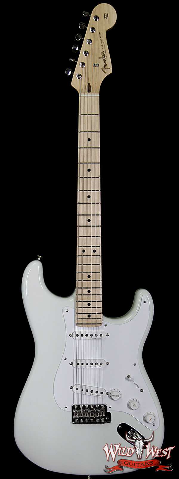 Fender Custom Shop Masterbuilt Todd Krause Eric Clapton Signature Stratocaster NOS Olympic White