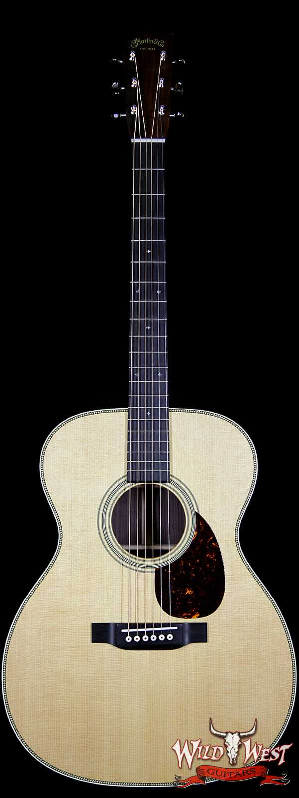Martin Standard Series OM-28 East Indian Rosewood Back & Side Ebony Fingerboard