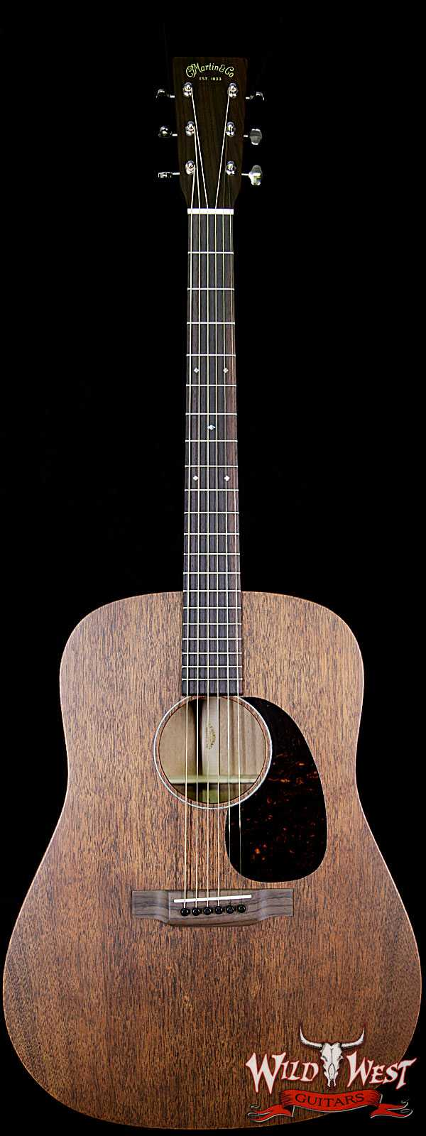 Martin USA 15 Series D-15M Dreadnought Acoustic Guitar Mahogany Natural