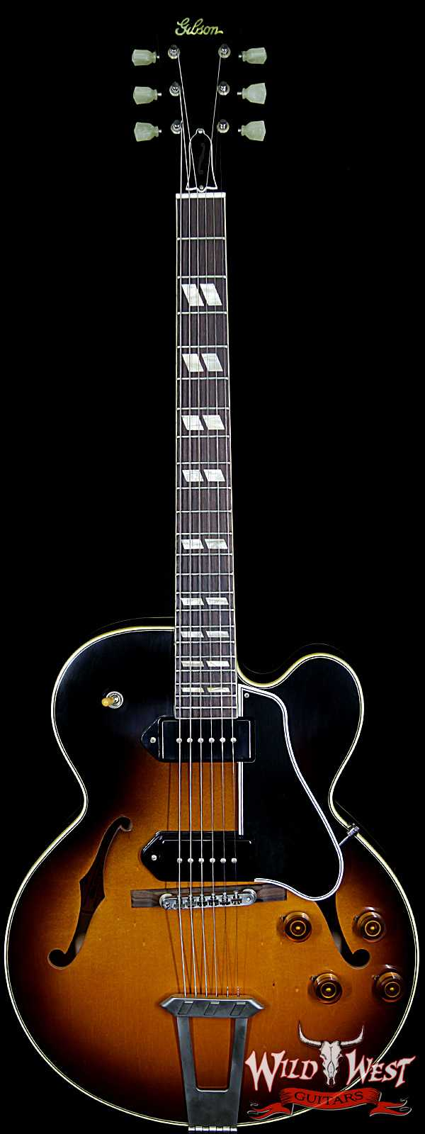 Gibson Memphis Limited Edition ES-275 P90 VOS Dark Burst
