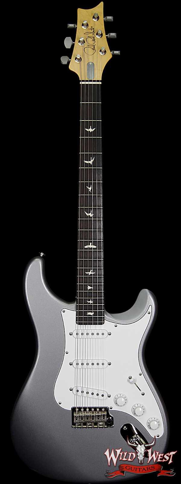 Paul Reed Smith PRS John Mayer Signature Model Silver Sky Maple Neck Rosewood Board Tungsten ( Silver )