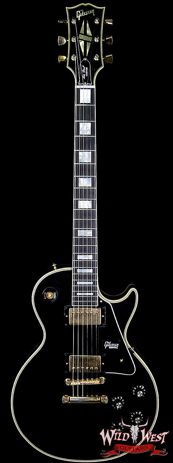 2018 Gibson Custom Shop 50th Anniversary 1968 Les Paul Custom Ebony