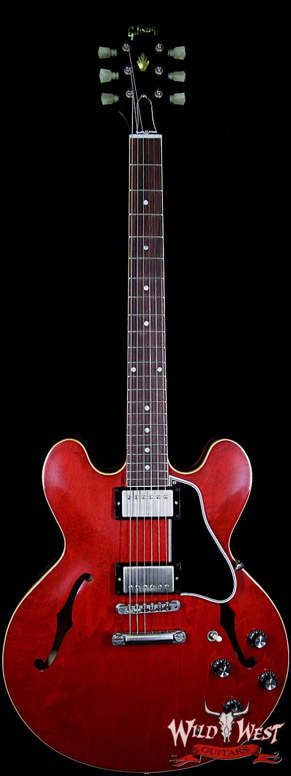 Gibson Memphis 1961 ES-335 '61 Slim Neck Rosewood Fingerboard Sixties Cherry