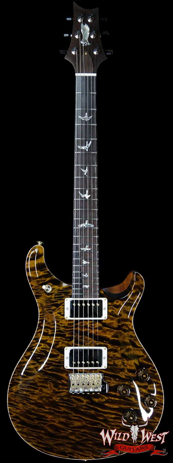 PRS Private Stock # 7480 McCarty 594 Trem 1-Piece Quilt Maple Top Brazilian Rosewood Board Tiger Eye
