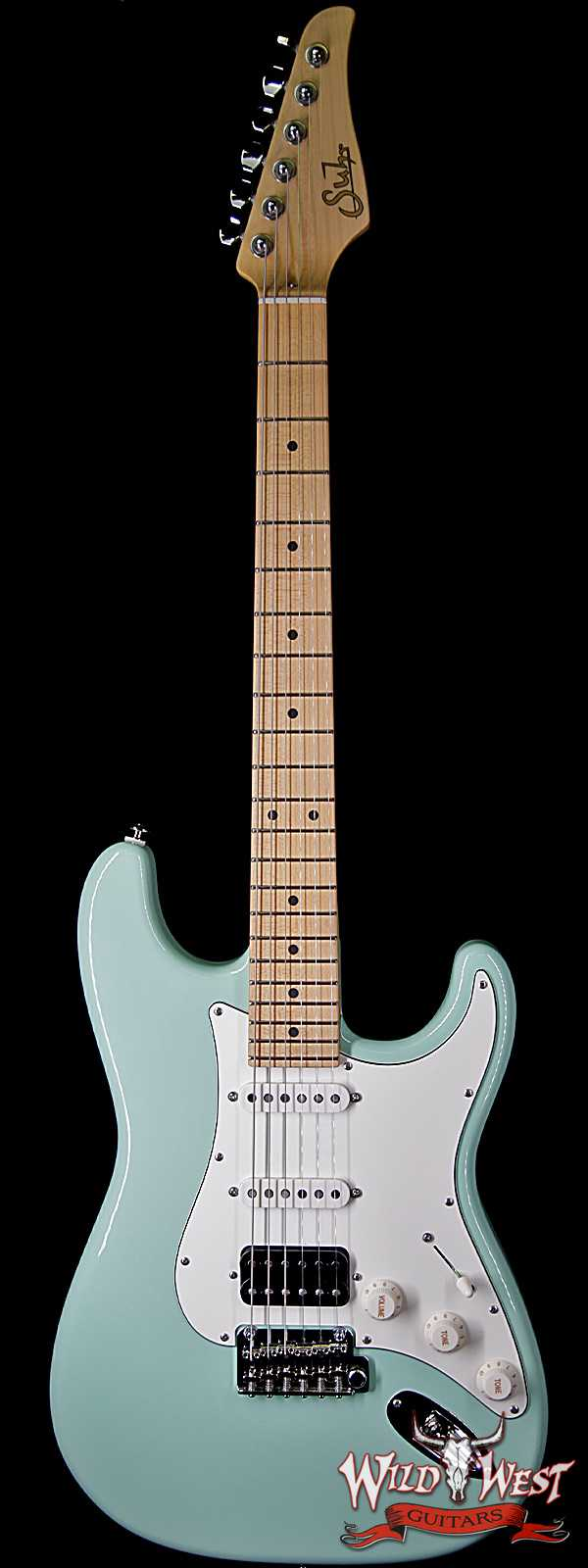 Suhr Classic S (Classic Pro) HSS Quartersawn Maple Neck & Fingerboard Surf Green