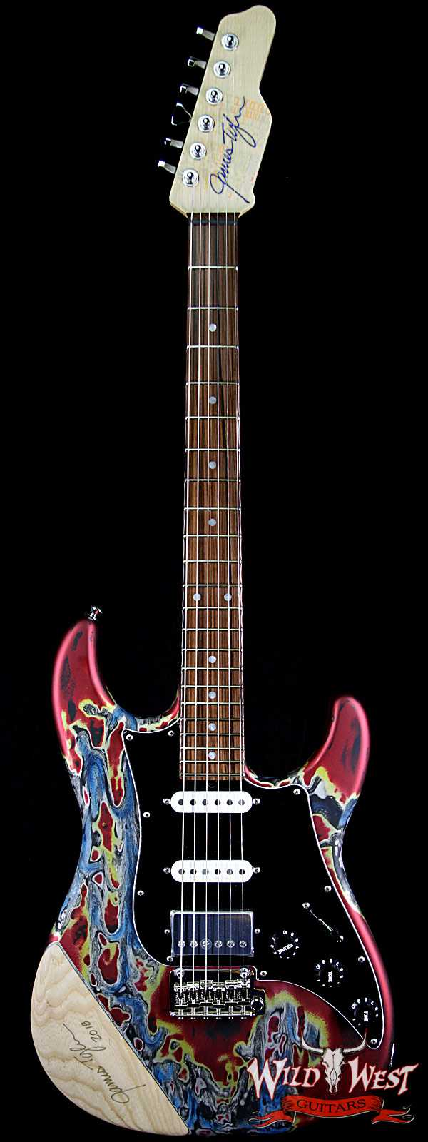James Tyler USA Studio Elite 25th Anniversary Limited Edition Burning Water # 58 of 75