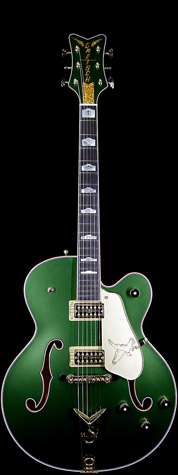 Gretsch USA Custom Shop Stephen Stern Masterbuilt Falcon™ Ebony Fingerboard Cadillac Green