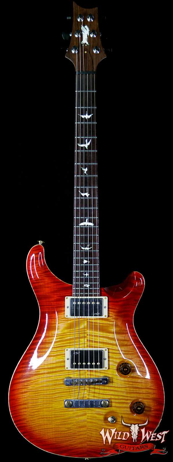 2010 PRS Private Stock #2708 Flame Top Custom 22 Vintage Cherry Burst with Paul Reed Smith Signed Back Plate