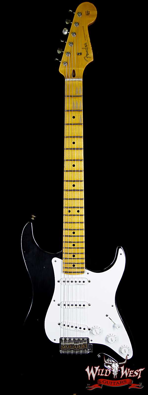"Fender Custom Shop Limited Edition Eric Clapton ""Blackie""  Stratocaster Journeyman Relic"