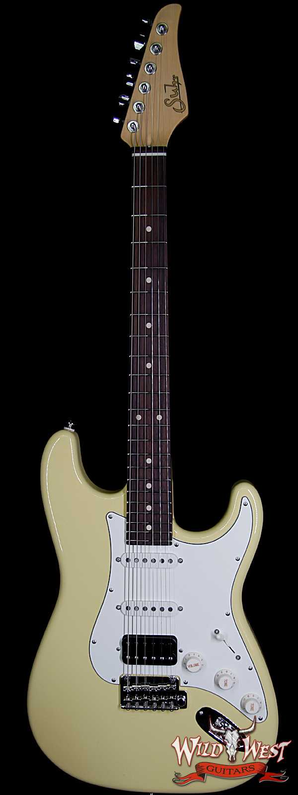 Suhr Classic S (Classic Pro) HSS PU Maple Neck Rosewood Fingerboard Vintage Yellow
