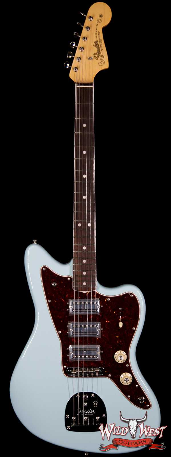 Fender USA Limited Edition 60th Anniversary Triple Jazzmaster Rosewood Fingerboard Daphne Blue