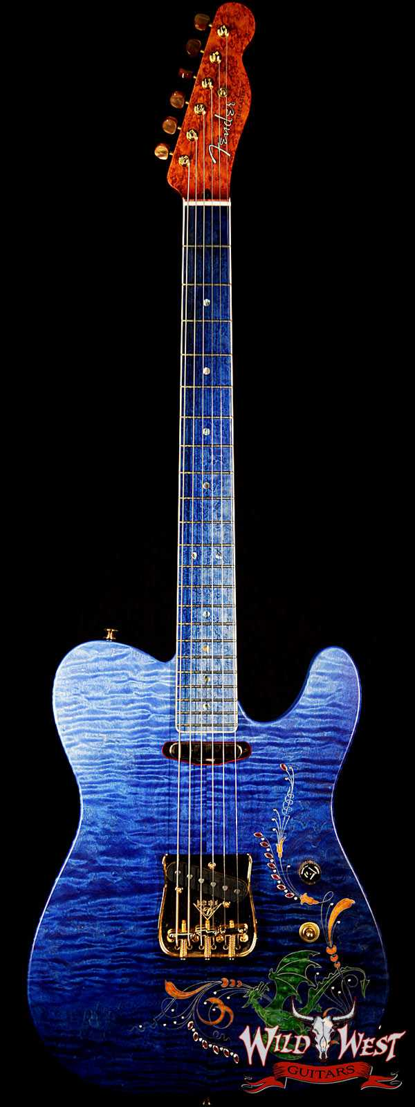Fender Custom Shop Masterbuilt Defender Telecaster by Yuriy Shishkov