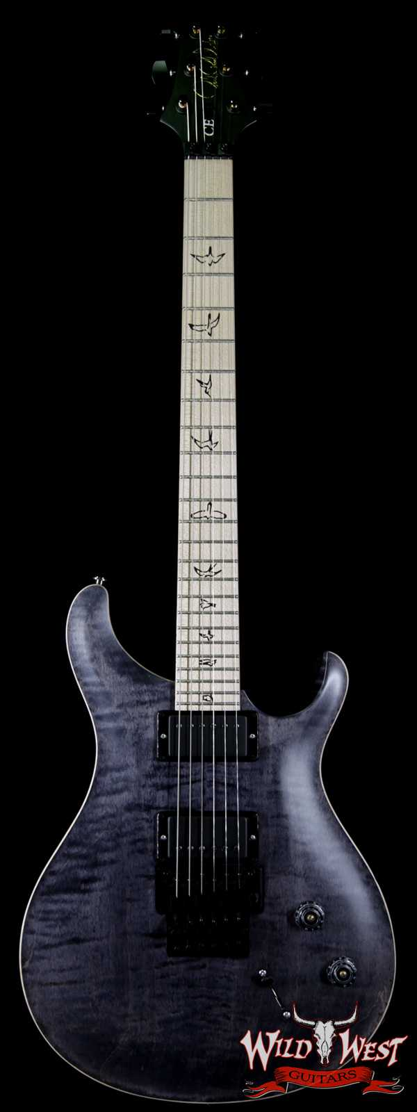 Paul Reed Smith PRS Limited Edition Dustie Waring Signature DW CE 24 Floyd Gray Black