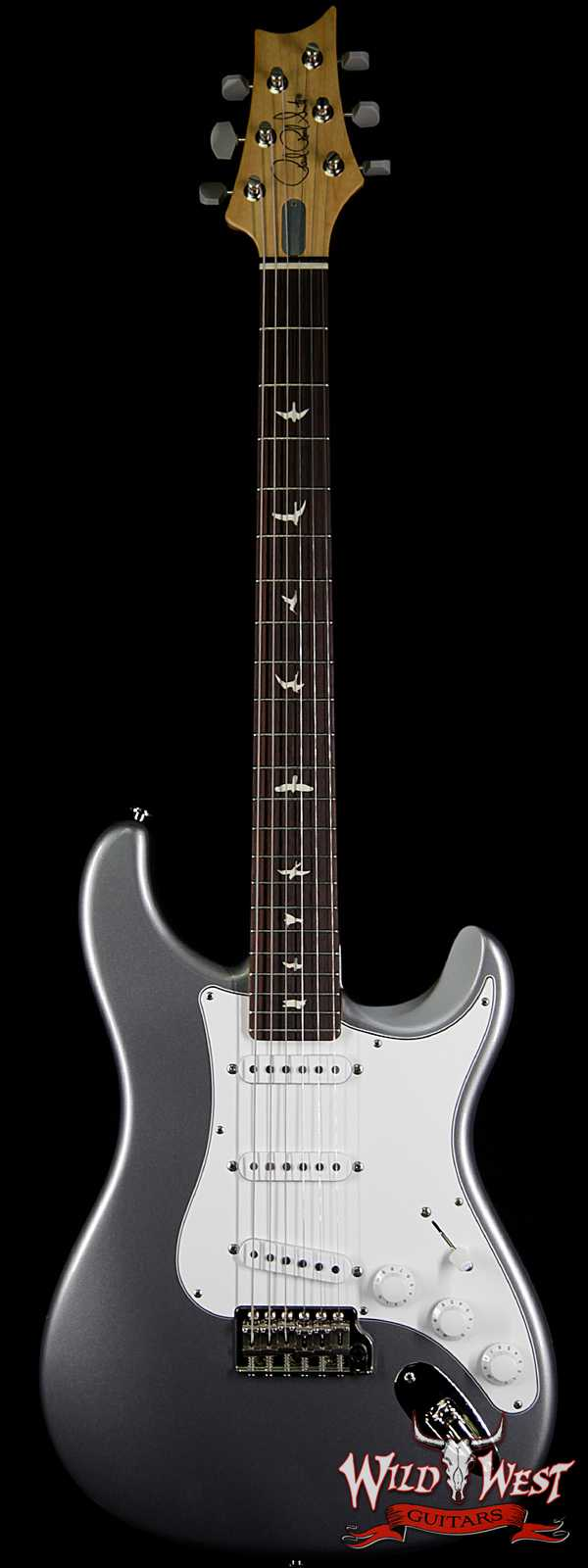 PRS John Mayer Signature Model Silver Sky Maple Neck Rosewood Fingerboard Tungsten (Silver)