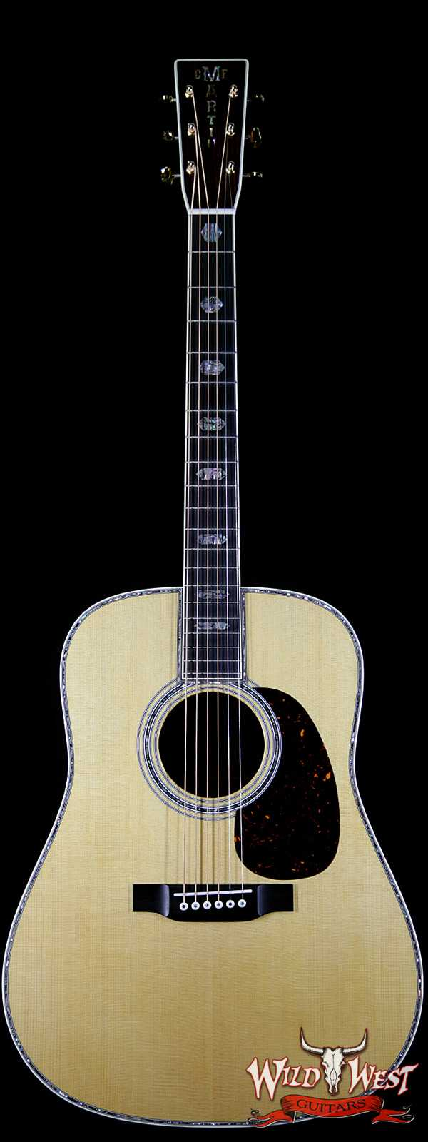Martin USA Standard Series D-45 Dreadnought Acoustic Natural