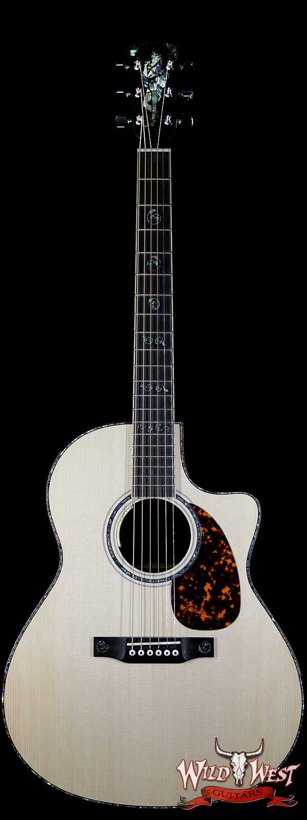 Larrivée LV-10 Custom Robin Hood with LR Baggs Anthem Pickup Electric-Acoustic Natural