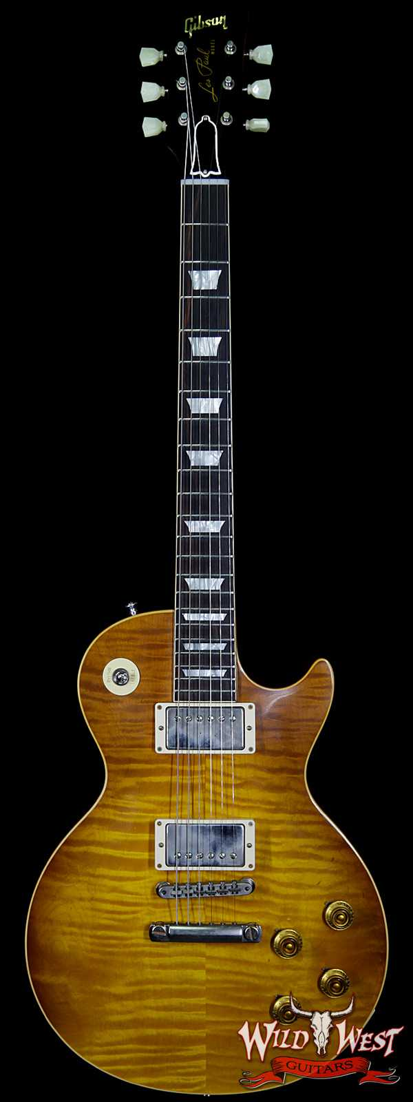 Gibson Custom Shop `59 Les Paul Standard VOS Brazilian Rosewood Fingerboard Honey Lemon Fade 8.25 Lbs