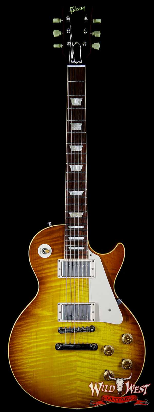 2008 Gibson Custom Shop R9 `59 Les Paul Historic 1959 Reissue Ice Tea 8.55 LBS
