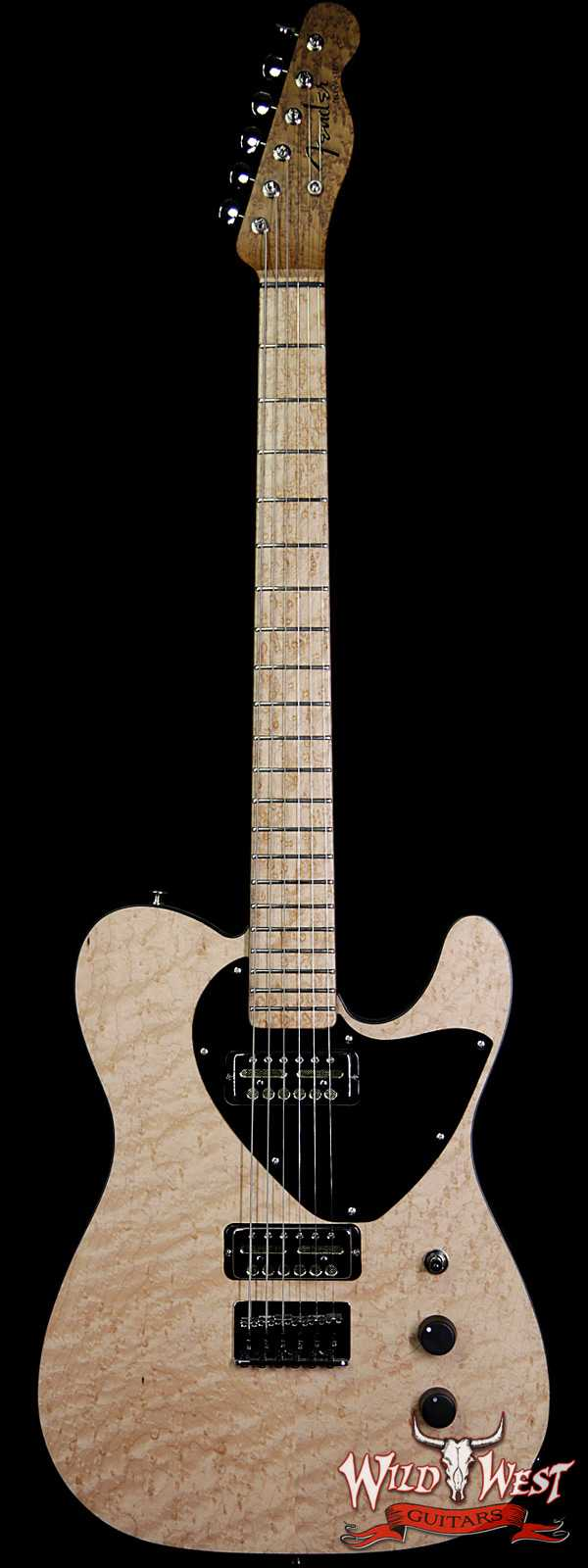 Fender Custom Shop NAMM #434 Jason Smith Masterbuilt 60's Telecaster NOS Birdseye Maple Natural