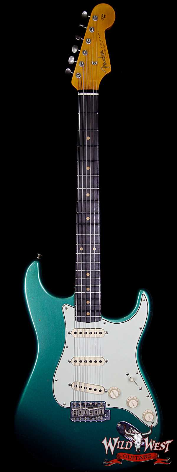 Fender Custom Shop 1961 Stratocaster Journeyman Relic with Dirty Neck British Racing Green