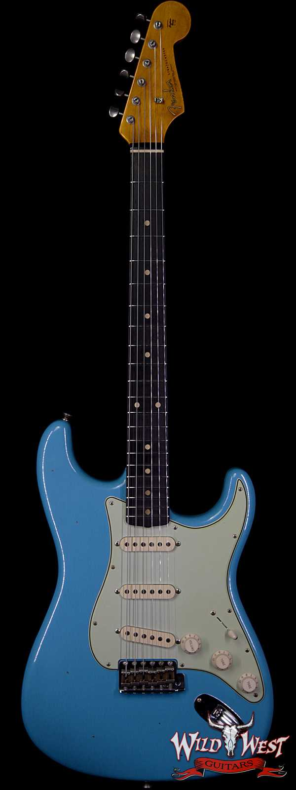 Fender Custom Shop 1961 Stratocaster Journeyman Relic with Dirty Neck AAA Rosewood Board Taos Turquoise