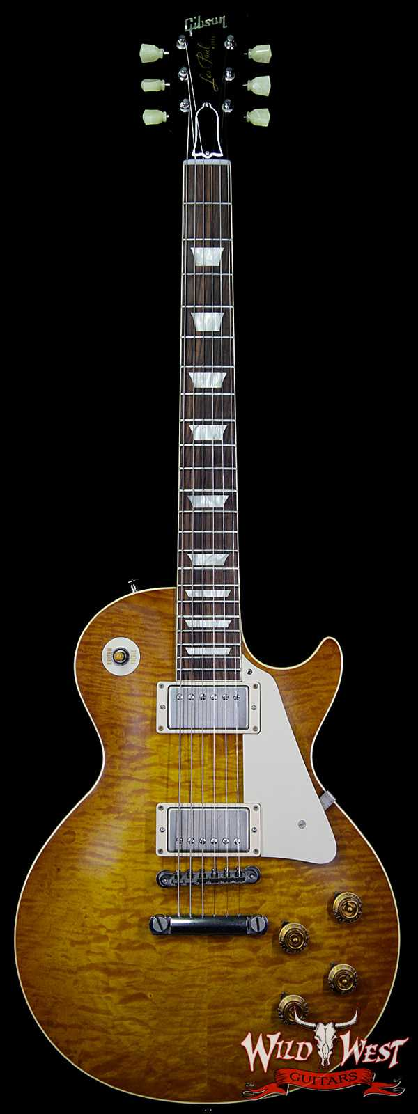 2014 Gibson Custom Shop R9 `59 Les Paul VOS Historic 1959 Reissue Honey Lemon