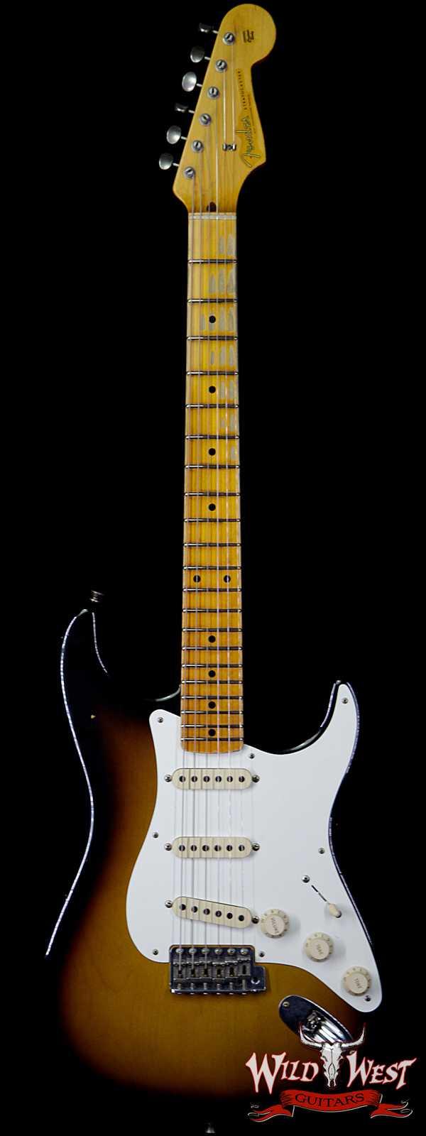 Fender Custom Shop 1957 Stratocaster Journeyman Relic with Dirty Neck 2 Tone Sunburst