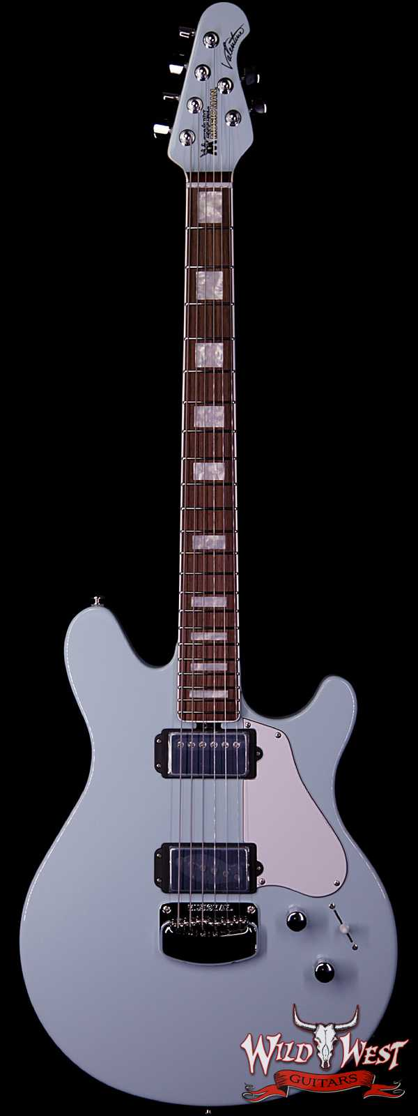 Ernie Ball Music Man BFR Limited Edition #54 of 68 Valentine Rosewood Board Baby Blue Signed by James Valentine