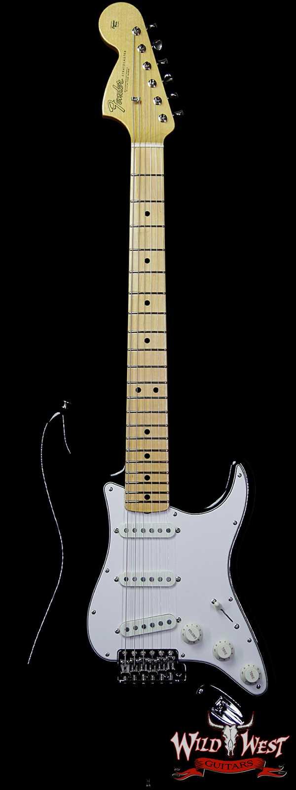 Fender Custom Shop Jimi Hendrix Signature Voodoo Child Stratocaster NOS Reverse Fat Headstock Black