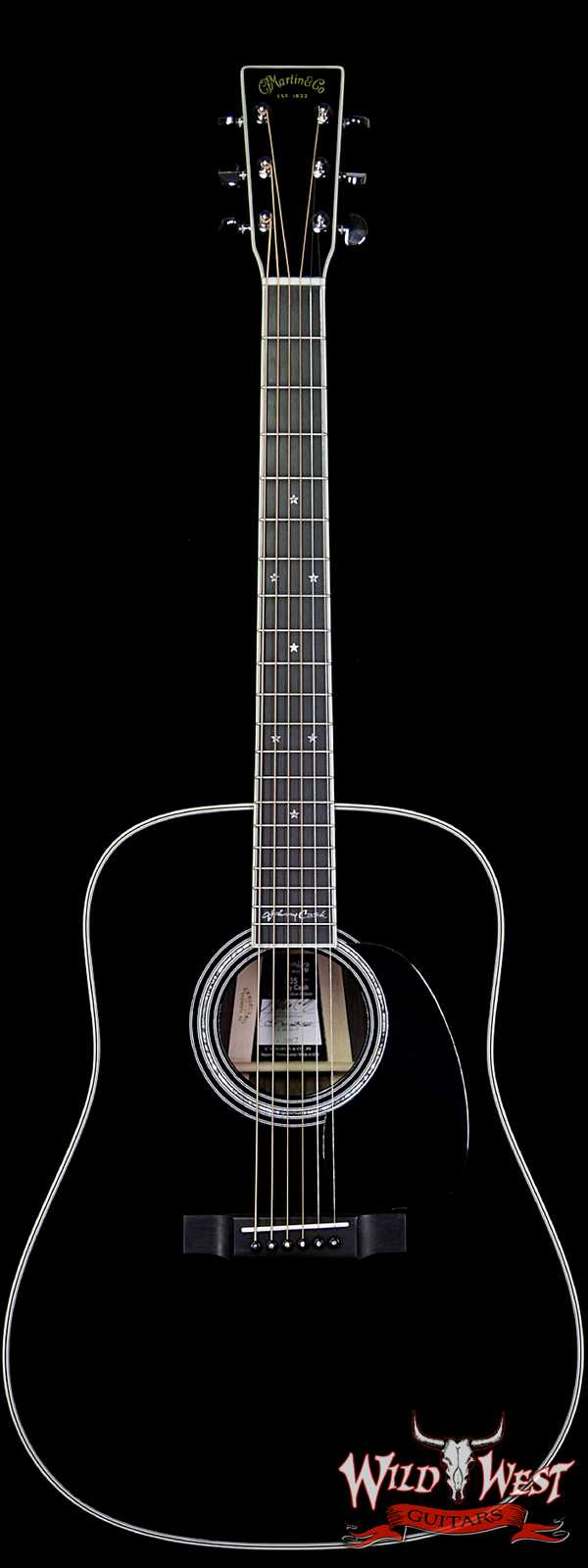 "Martin USA Custom Signature Edition D-35 Johnny Cash ""The Man In Black"""