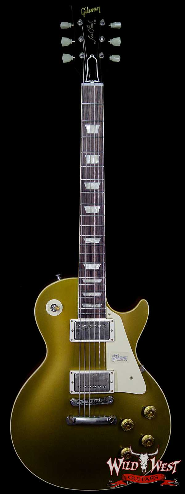 Gibson Custom Shop Historic 1957 Les Paul Goldtop '57 Reissue VOS Natural Back 8.75 LBS