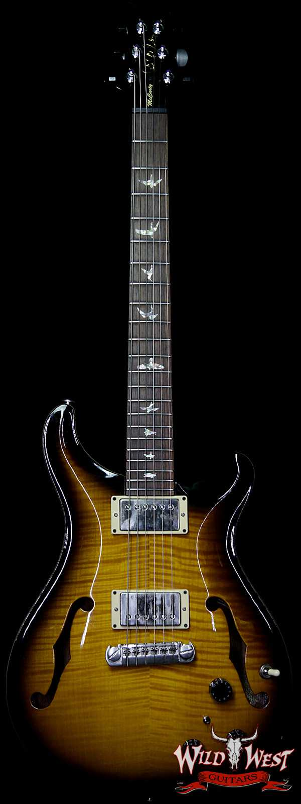 2000 Paul Reed Smith PRS 10 Top Hollowbody Piezo Rosewood Fingerboard Tobacco Burst