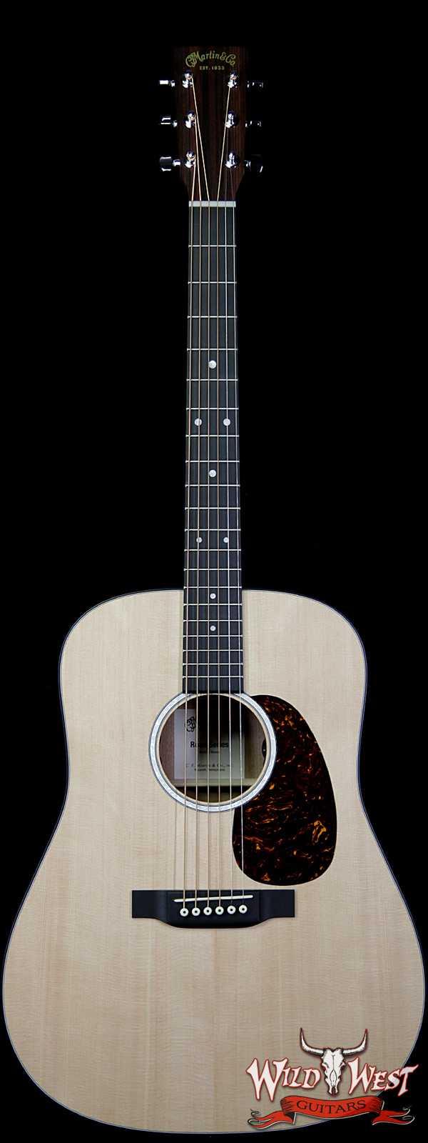 Martin Road Series 2019 D-10E Electric-Acoustic Guitar Natural