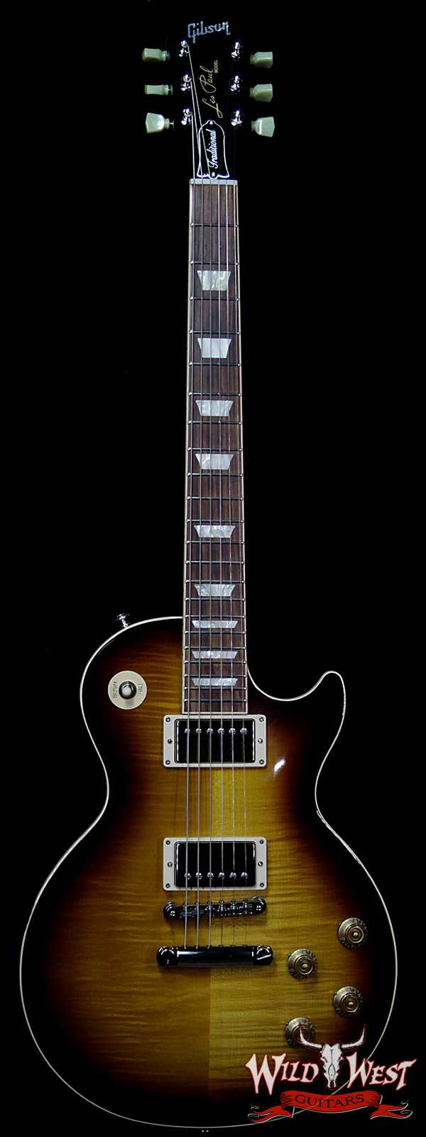 Gibson USA 2018 Les Paul Traditional Tobacco Sunburst