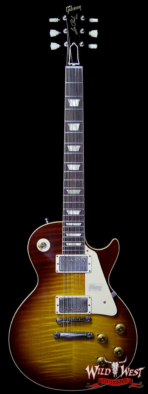 Gibson Custom Shop 60th Anniversary 1959 Les Paul Standard VOS Cherry Teaburst 8.70 LBS